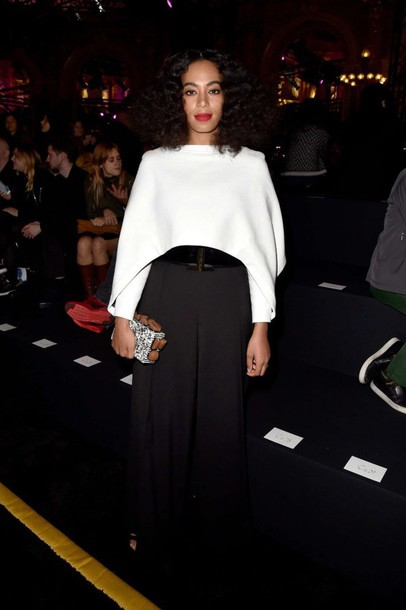 top fashion week 2015 solange knowles