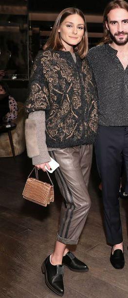 jacket pants blogger shoes olivia palermo fall outfits