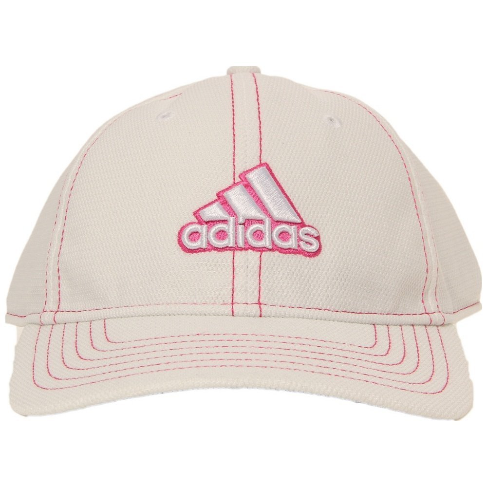 f9a9421aacf8f Amazon.com : adidas Women's Princess 2.0 Hat (White/Hibiscus Pink) : Golf  Club Head Covers : Sports & Outdoors