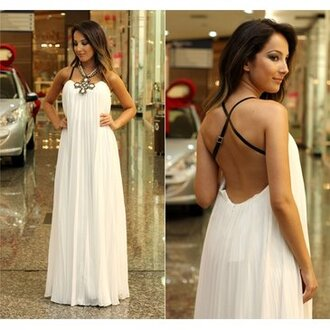 dress beautiful sexy white dress white colorful simple dress sexy girl good