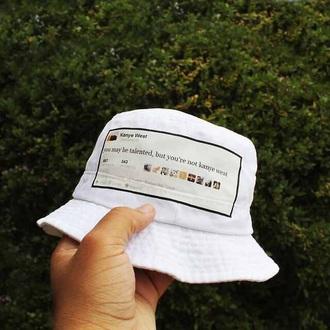 bucket hat kanye west