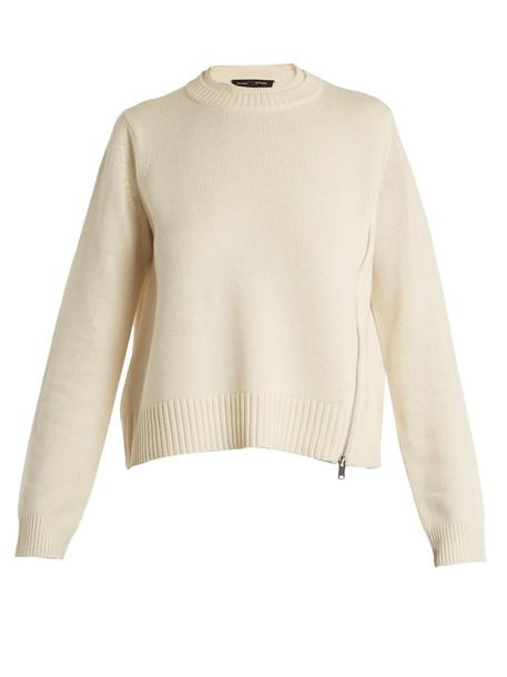 Proenza Schouler sweater zip silk wool
