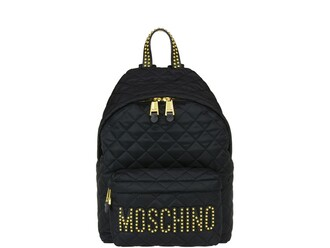 backpack gold black bag