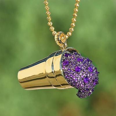 Purple Drank Necklace
