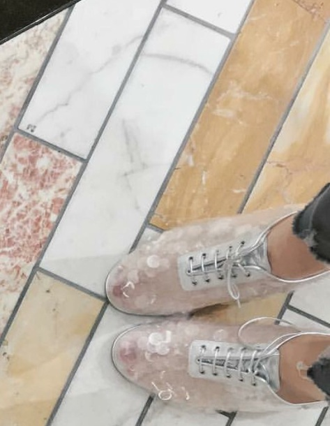 shoes white polka dots crystal shoes sneakers see through sneaker clear oxfords silver glitter women oxford shoes oxfords clear translucent nice glitter shoes ribbon
