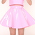 Glitters For Dinner — Made To Order - Pink PVC Skirt by GFD