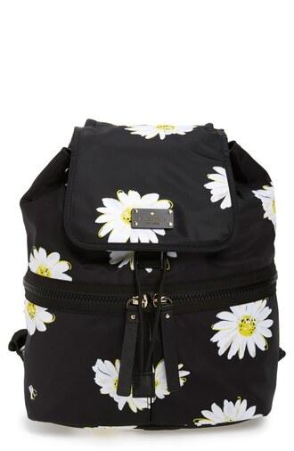 bag daisy backpack daisy daisy print