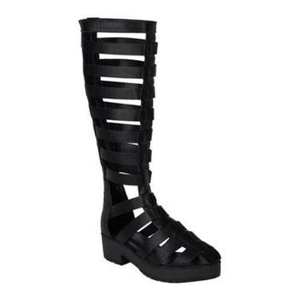 shoes knee knee high gladiator gladiators high heel black knee high gladiator sandals