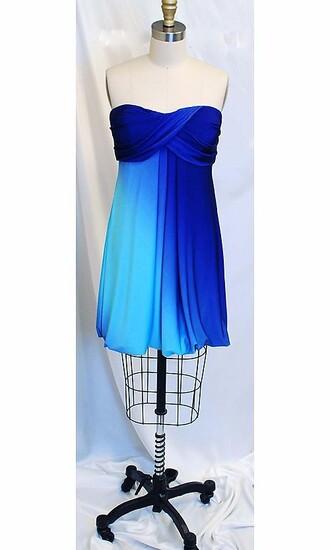 dress blue blue dress strapless strapless dress blue strapless dress