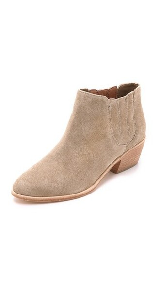 suede booties booties suede shoes