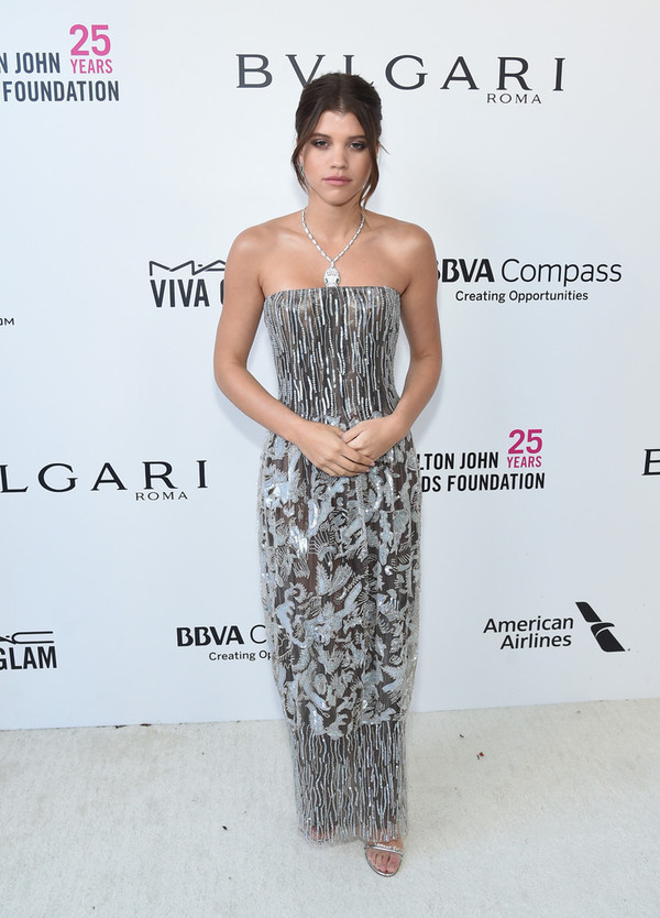 dress strapless gown prom dress prom beauty sofia richie oscars 2018 red carpet dress shoes