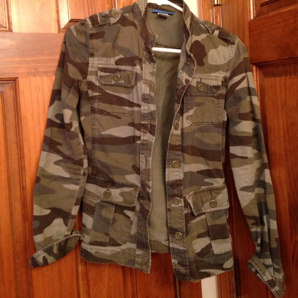 50% off Delia's Jackets & Blazers - Delia's camouflage army jacket from Kristin's closet on Poshmark