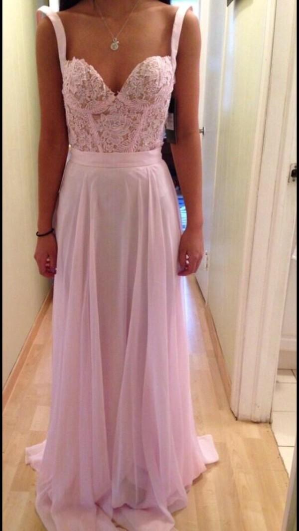 dress prom dress pink dress pink lace dress lace