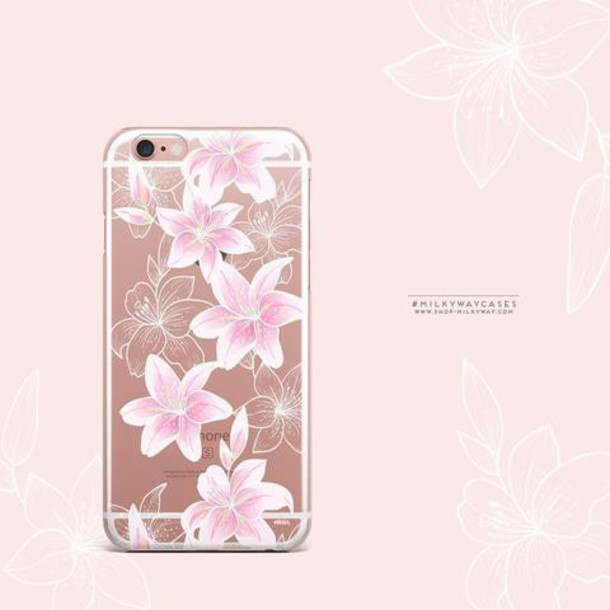 Milkyway Cases CLEAR TPU CASE COVER - LILY BETH