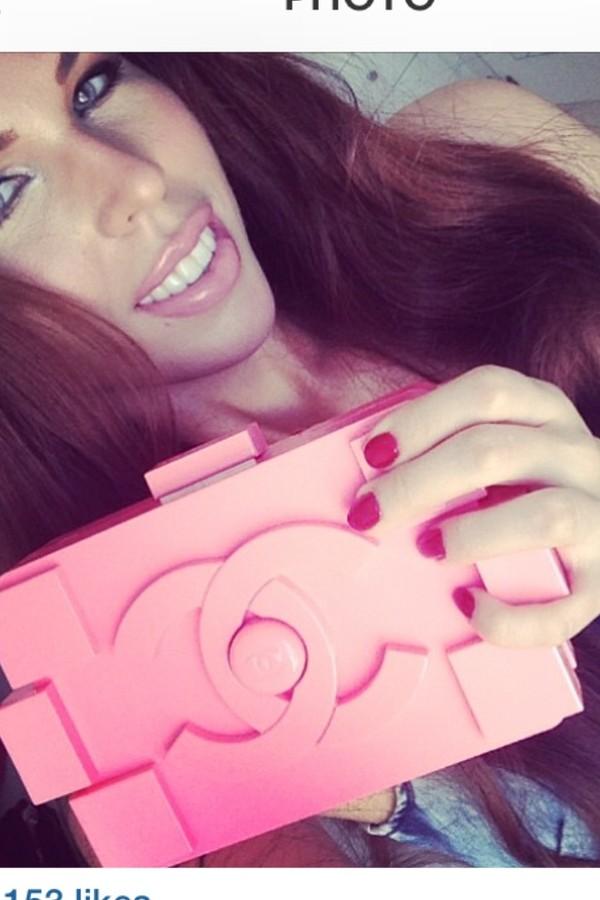 Chanel Clutch Bag Pink Bag Pink Chanel Lego Fashion