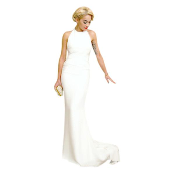 dress prom dress ivory dress ivory wedding dress backless prom dress