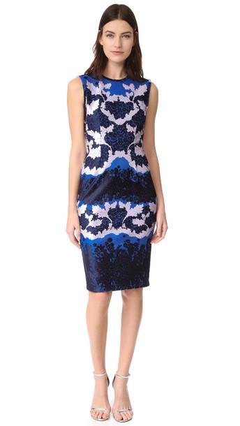 Yigal Azrouel Sleeveless Dress - Baja Blue