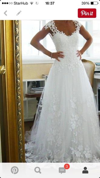 dress clothes wedding wedding dress fashion