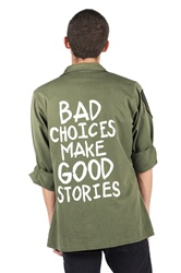 Bad choices vintage army jacket/shirt