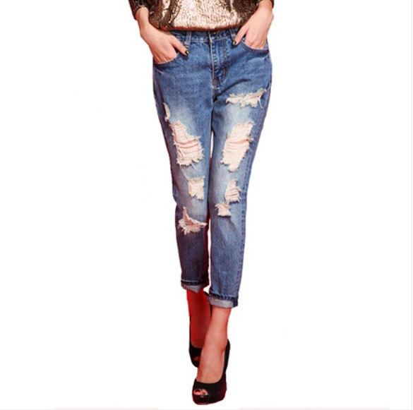 Cafferty Torn Jeans – Dream Closet Couture