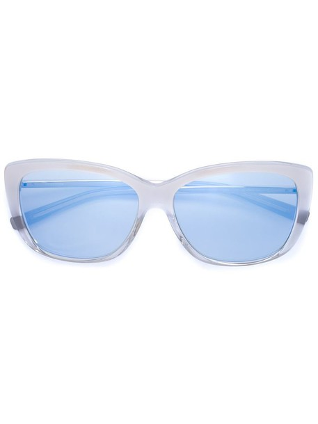 Jil Sander metal women sunglasses white