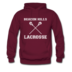 Beacon Hills Lacrosse Plain Front | Saniday Designs