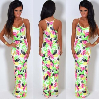 dress pink boutique maxi dress