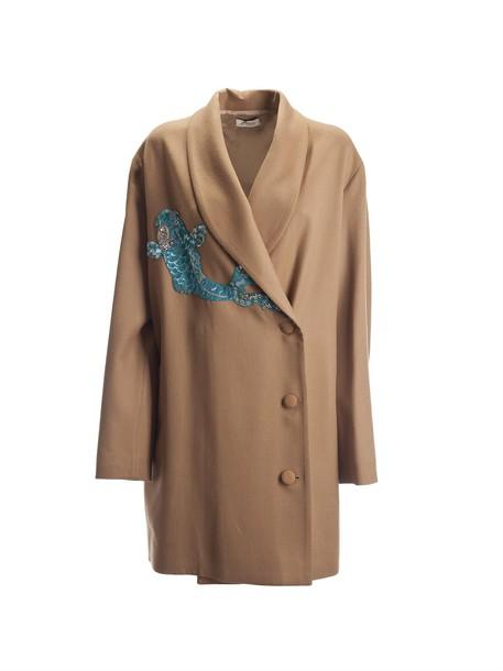 Attico coat brown