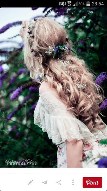 hair accessory pretty boho