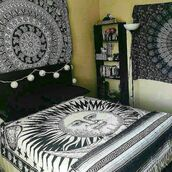 home accessory,multimatecollection,blanket sun and moon,bedding,bohemian,wall tapestry,indian tapetry,indian tapestry bedspread