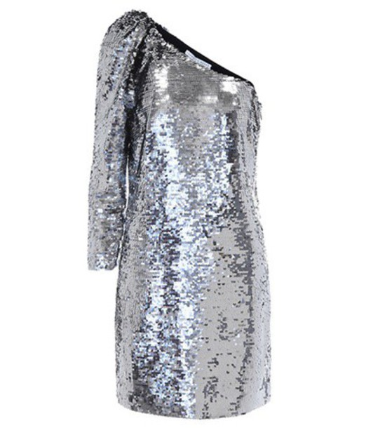 dress embellished silver