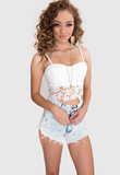Madlyn Bustier - White