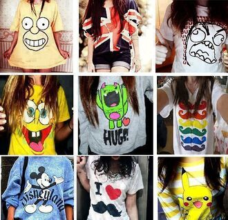 t-shirt clothes shirt for summer lovely all of them the simpsons british flag top graphic graphic tee graphic sweater sweater teen blouse free hugs cute spongebob moustache mickey mouse england homer simpson huge
