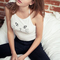 Summer vest sleeveless cat crop top tank tops camis camisetas feminina pokemon white/grey/black fashion-in camis from women's clothing & accessories on aliexpress.com | alibaba group