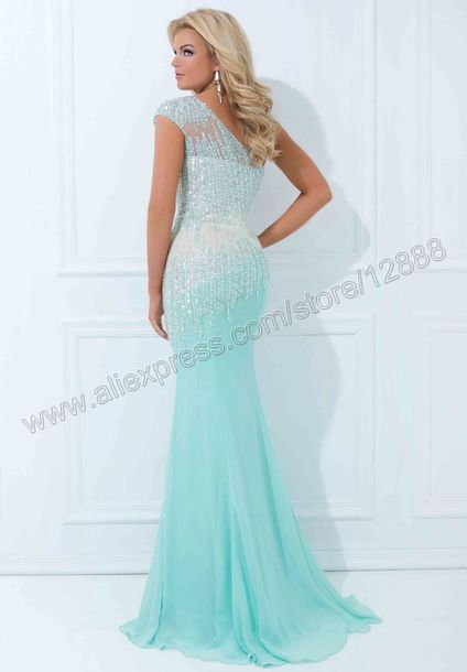 Dress Tony Bowls Prom Dress Cute Mermaid Prom Dress