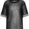 Shade short sleeved mesh t-shirt - black – shade london