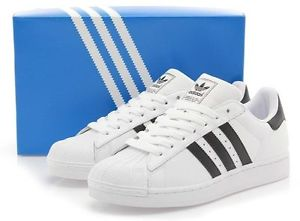 adidas originals mens superstar 2 trainers white black