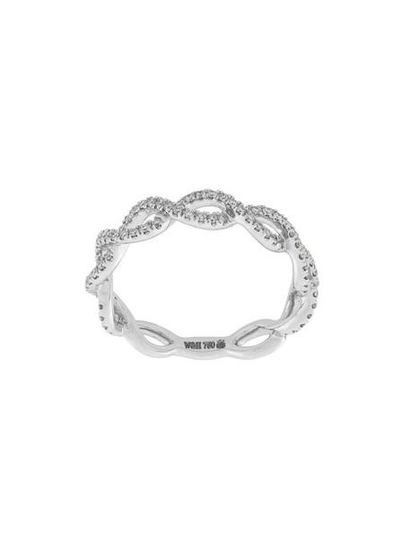 Wouters & Hendrix Gold women ring gold white grey metallic jewels