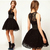 Fashion Sexy Black Clubbing Princess Tutu Dress Cocktail Lace Party Dress Slim | eBay