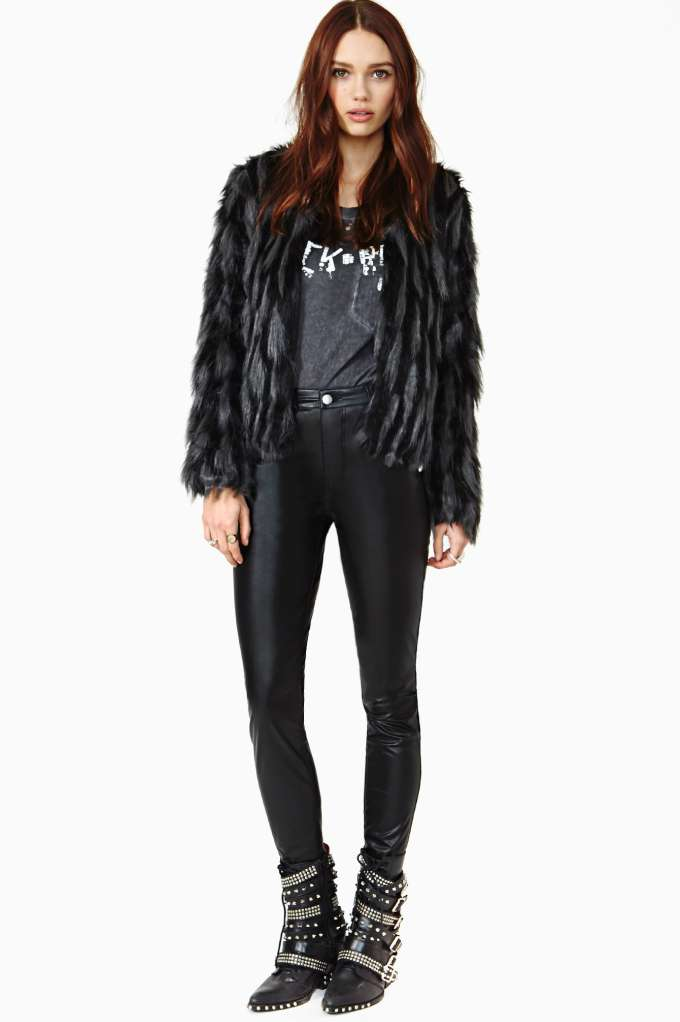 Nasty Gal Bad Attitude Faux Leather Pants in  Clothes Bottoms at Nasty Gal