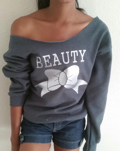 Beauty And The Beast Workout Sweatshirt Crossfit Tank Beauty