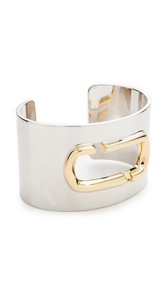 cuff statement cuff bracelet silver jewels
