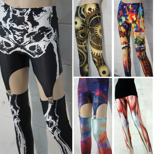 9e9f0eb92fc New Ladies Plus Size Costume Halloween Leggings Tights Printed ...