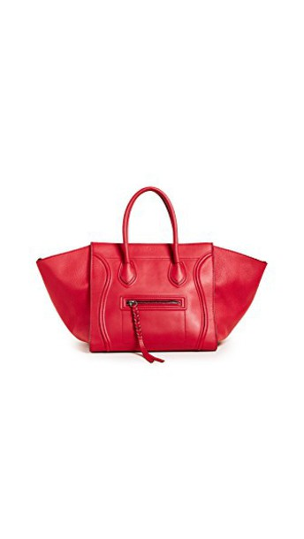 What Goes Around Comes Around bag red