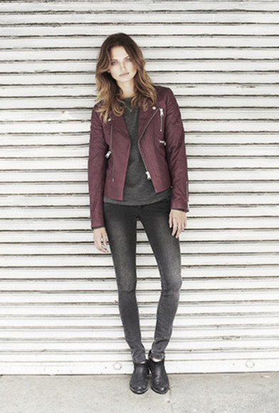 jacket lookbook fashion anine bing shoes jeans
