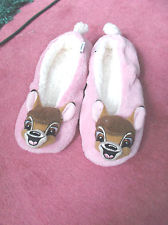 CUTE DISNEY BAMBI LADIES SUPER SOFT SLIPPERS VARIOUS SIZES | eBay