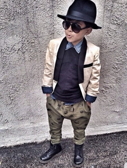 boys toddler kids fashion kids kids fashion harem combat boots sunglasses blazer kids blazer