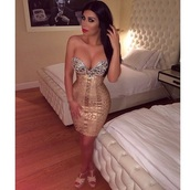 dress,sexy,sexy dress,bodycon dress,party dress,mini dress,gold,gold dress,fashion,trendy,girly,bandeau,club dress,new year s eve,date outfit,date dress,pattern,crystal,strapless,christmas,winter outfits,fall outfits,holiday dress,elegant dress,dope,style,bandage dress,cocktail dress,cool,foil,woodgrain,new year dresses