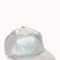 Futuristic holographic baseball cap | forever21 - 2000111680