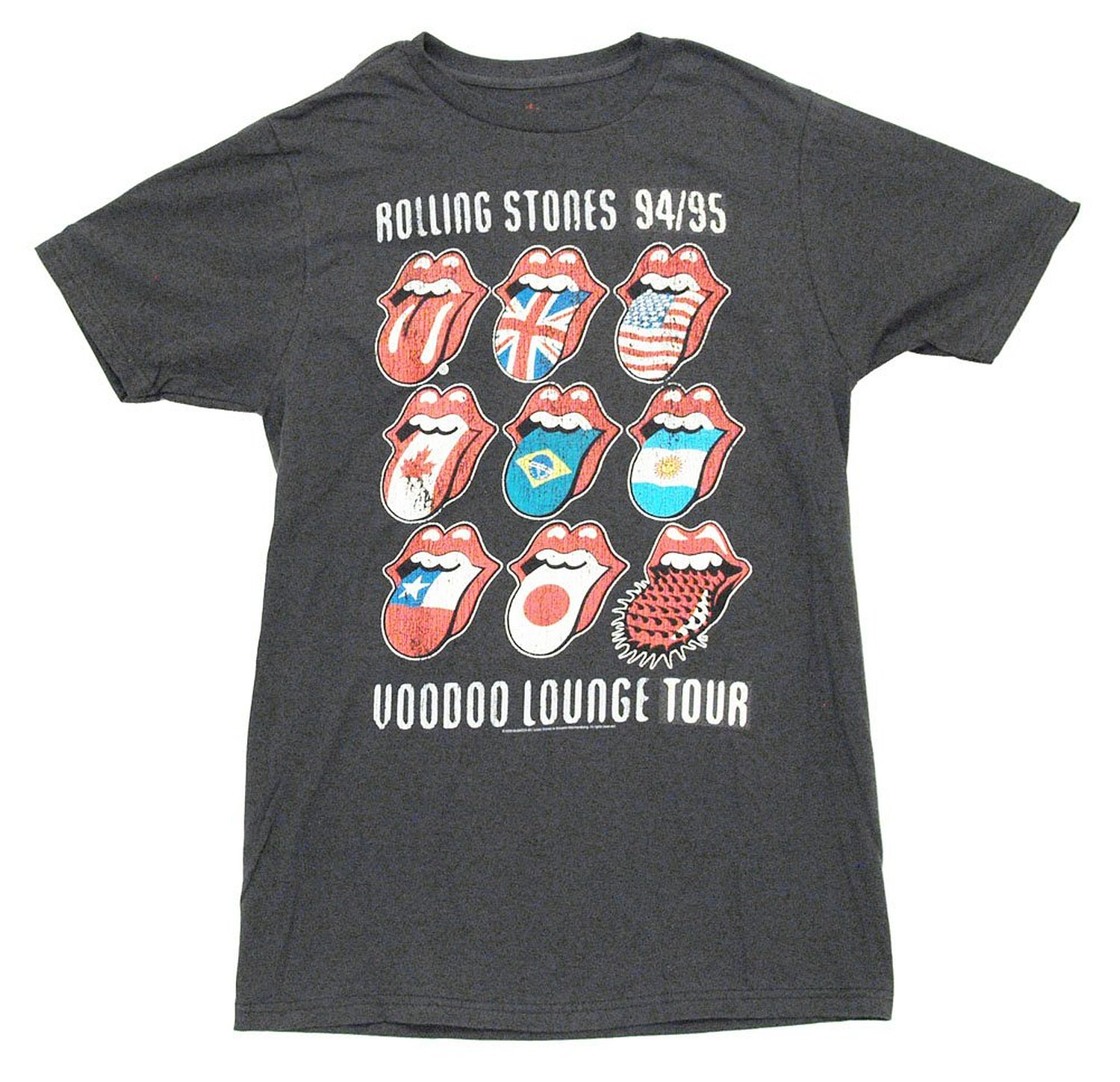 Amazon.com: Rolling Stones - Voodoo Tongues Soft T-Shirt: Music Fan T Shirts: Clothing